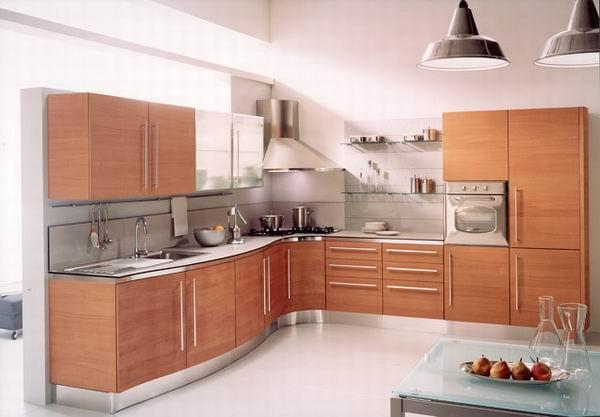 ديكور مطبخ خشبي